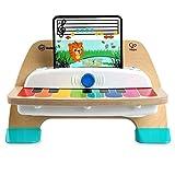 Baby Einstein Hape Magic Touch Piano Musikspielzeug Klavier aus Holz, mit 3 Notenblättern und 6 Liedern, ab 12 Monaten