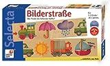 Selecta 3518 - Bilderstraße, Legespiel aus Holz für Kleinkinder