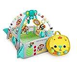 Bright Starts, 5 in 1 Spieldecke mit Spielbogen, Your Way Ball Play - mit anpassbaren Wänden, Melodien sowie 35 Bällen und weiteren Spielzeugen, Grün